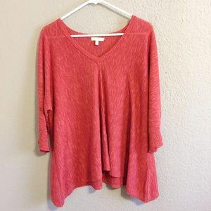 Eileen Fisher Organic Linen/Cotton Sweater Medium